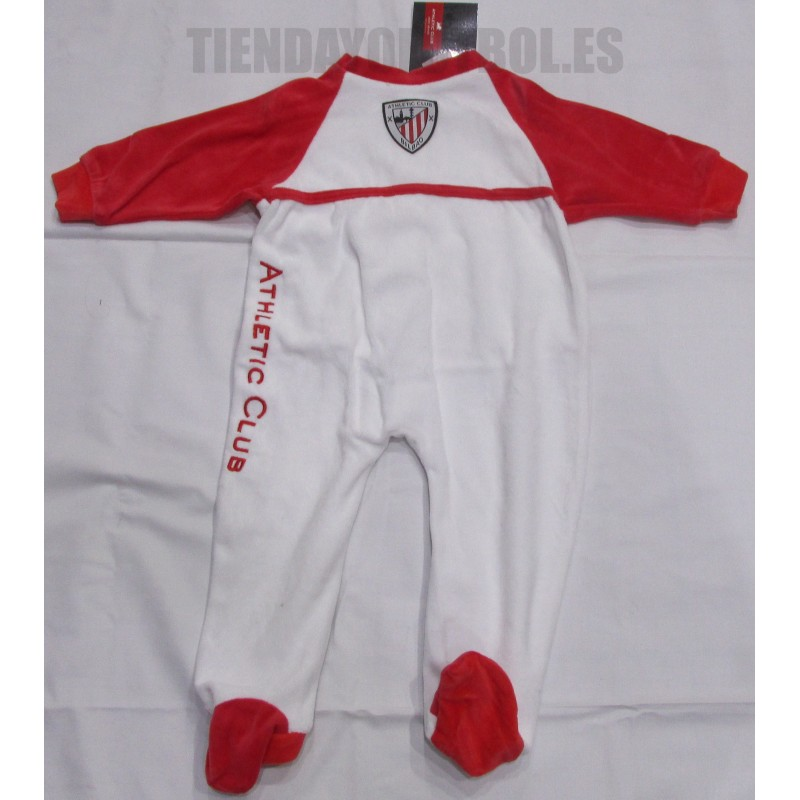 Pelele -pijama Athletic Club de Bilbao blanco. Loading zoom e268ccff121