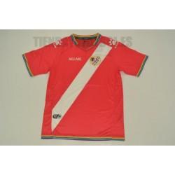 Camiseta oficial 2ª Rayo Vallecano de Madrid 2017/18 ROJA Kelme