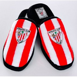 Zapatillas oficial de estar por casa Rojas y Blancas Athletic Club de Bilbao
