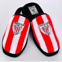 Zapatillas oficial de estar por casa Rojas y Blancas Athletic Club de Bilbao