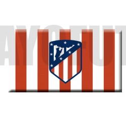 Imán oficial Escudo Atlético de Madrid RAYADO
