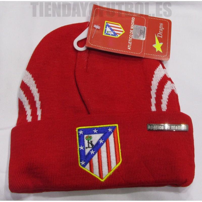Gorro oficial rojo con vuelta Atlético de Madrid. Loading zoom cb8cec7f7c7