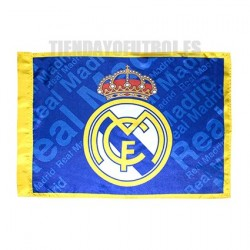 Bandera Oficial Peq. Real Madrid Azul
