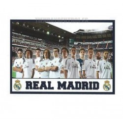 "Bandera Oficial  Real Madrid ""JUGADORES"" 2015/16"