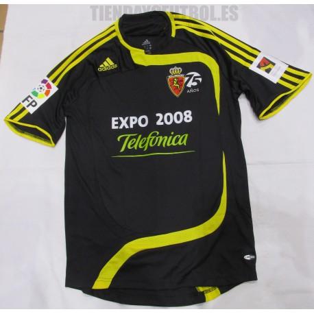 Camiseta  oficial  Real Zaragoza  retro  Adidas