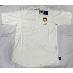 Camiseta oficial   Italia blanca  Puma