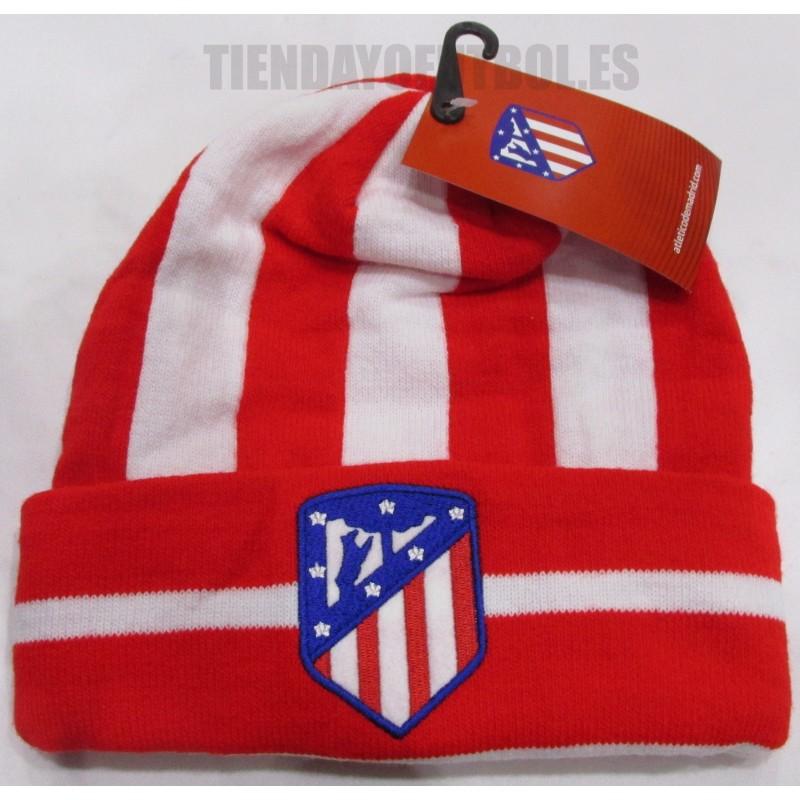 Gorro oficial nuevo rojo y blanco con vuelta Atlético de Madrid. Loading  zoom 407044dcbec