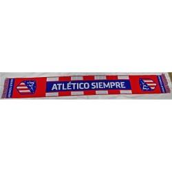 """Bufanda Oficial Atlético Madrid"""" SIEMPRE"""""""