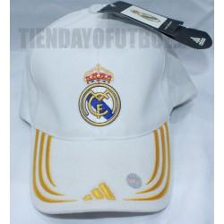 Gorra Blanca -Amarillo Real Madrid CF. Adidas
