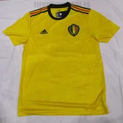 Camiseta oficial de Belgica  Amarilla  ADIDAS
