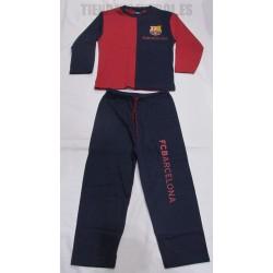 Pijama   oficial adulto FC Barcelona  azul