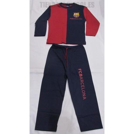 Pijama   oficial  FC Barcelona  azul