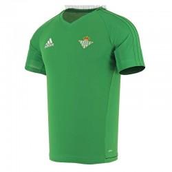 Camiseta  oficial entrenamiento Real Betis    Adidas
