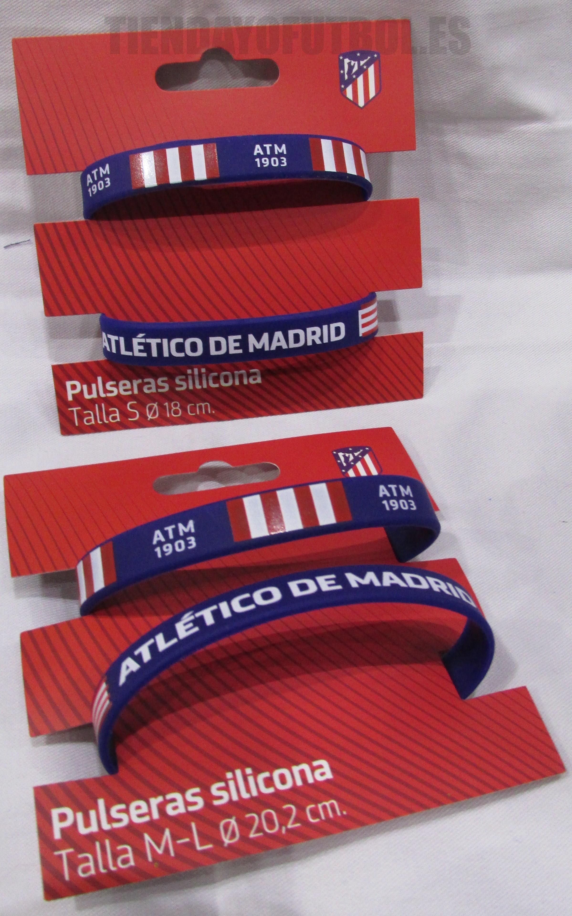 3f511337758d Atlético de Madrid pulseras
