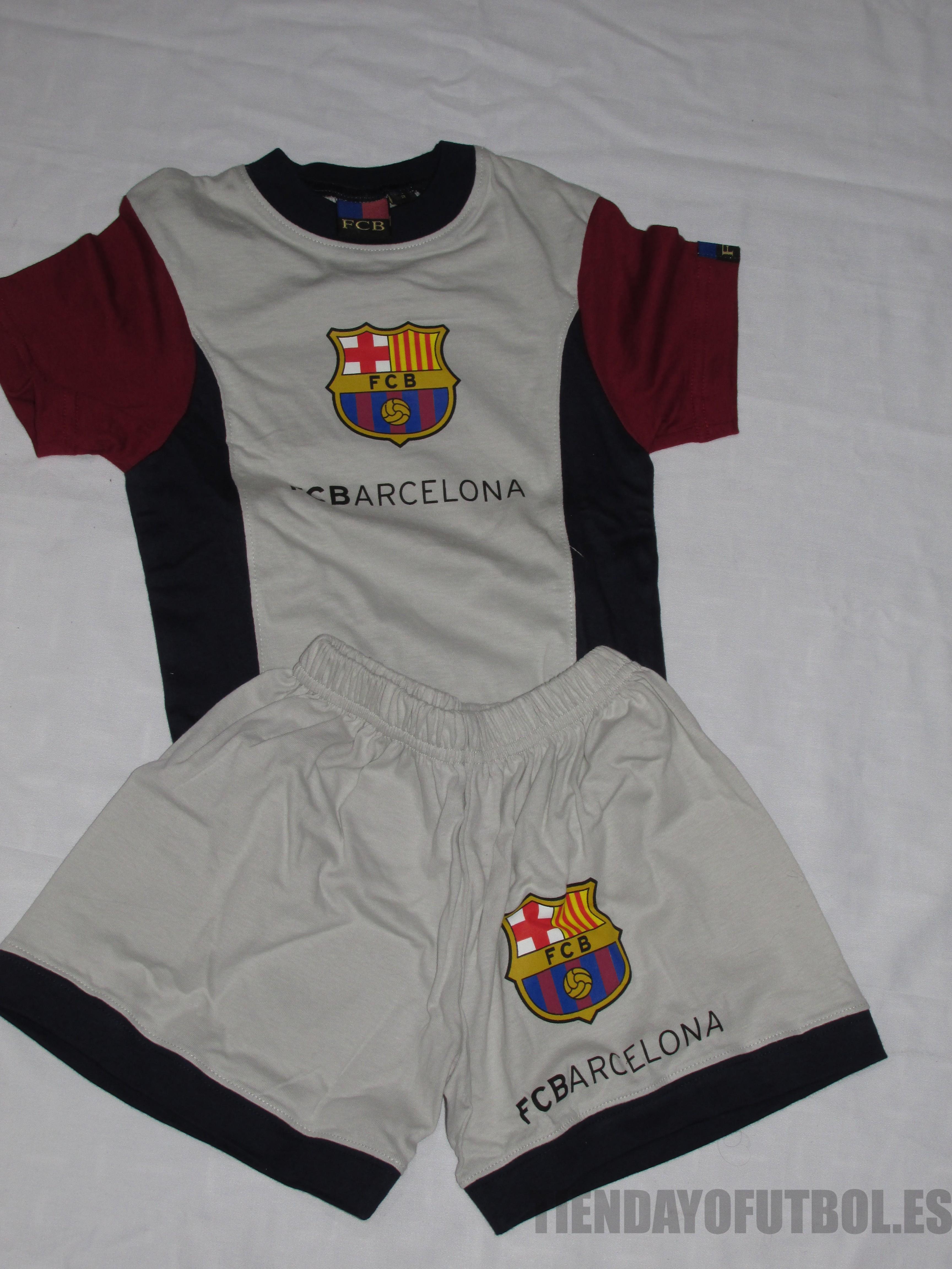 Barcelona fútbol Pijama verano  812c5c0d3ca