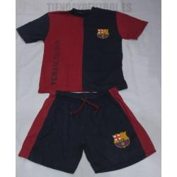 Pijama Oficial verano adulto FC Barcelona