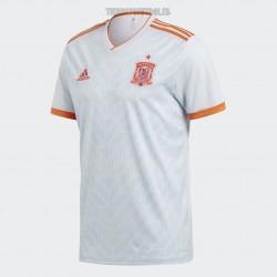Camiseta  oficial Selección  España   2º Adidas Mundial 2018