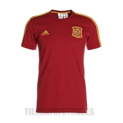 Camiseta oficial Roja Selección Española Mundial 2018 Adidas