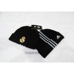 Gorro oficial Lana  negro Real Madrid CF  adidas