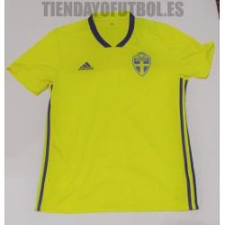 Camiseta Suecia amarilla  2018 Adidas
