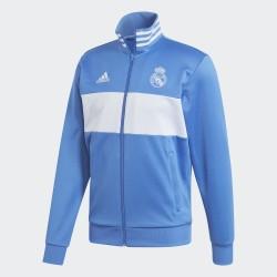 Sudadera , Chaqueta azul  Real Madrid CF 2017/18  Adidas