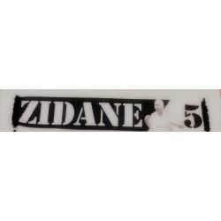 Bufanda Zidane Doble  tela fina