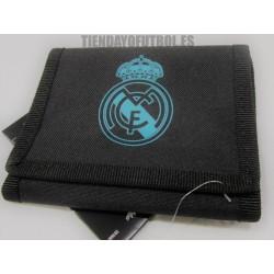 Cartera oficial Negra Real Madrid CF Adidas 2017/18