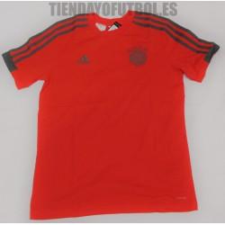 Camiseta Jr Bayern Munchen Adidas roja