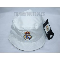 Gorro Playero Real Madrid CF. Blanco Adidas