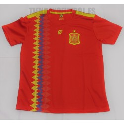 Camiseta  oficial Selección  España  RFEF  mundial 2018