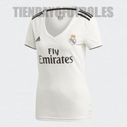 Camiseta 1ª Mujer 2018 /19 Real Madrid CF Adidas