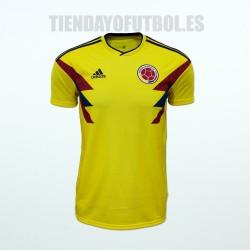 Camiseta  1ª Colombia mundial 2018 Adidas