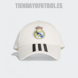 Gorra oficial blanca 2018/19 Real Madrid CF. Adidas