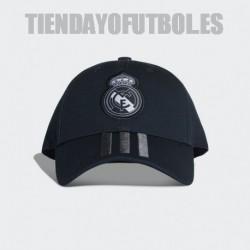 Gorra oficial antracita 2018/19 Real Madrid CF. Adidas