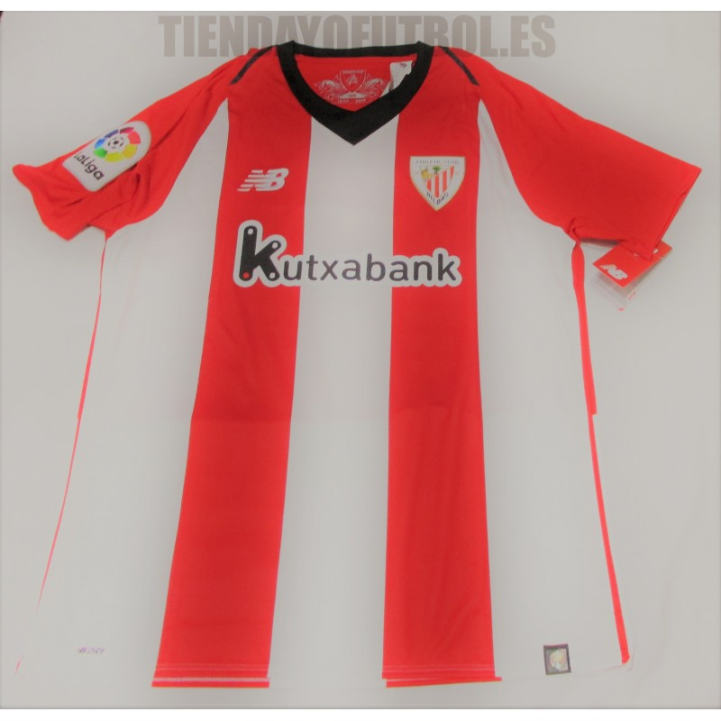6c1da2955f9b2 Camiseta oficial 1 ª 2018 19 Athletic club de Bilbao New Balance. Loading  zoom