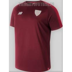 Camiseta  oficial entrenamiento  . 2018/19 Athletic club de Bilbao   New Balance