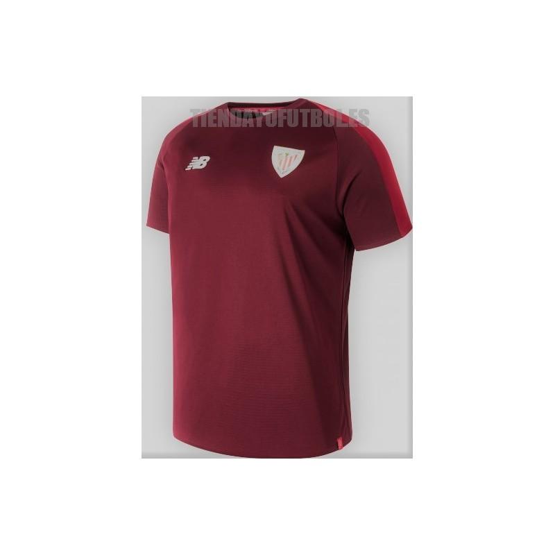Camiseta oficial entrenamiento . 2018 19 Athletic club de Bilbao New  Balance. Loading zoom 3a4733e239757
