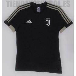 Camiseta oficial paseo Juventus Adidas 2018/19 negra