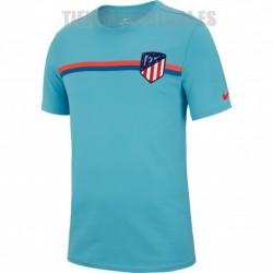 Camiseta oficial Algodón azul Atlético de Madrid 2018/19 Nike