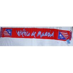Bufanda oficial Atlético de Madrid Roja