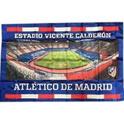 Bandera Oficial At. de Madrid Vicente Calderon