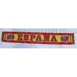 """Bufanda Telar España """"Aupa España"""""""