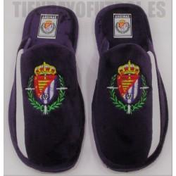 Zapatillas casa bicolor oficial Real Vallladolid