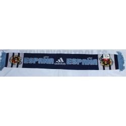 Bufanda oficial España doble de Adidas Azul