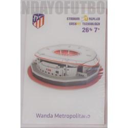 PUZZLE 3D oficial Estadio Wanda Metropolitano