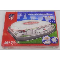PUZZLE 3D oficial Estadio Wanda Metropolitano grande