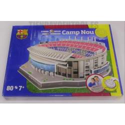 PUZZLE 3D oficial Estadio Camp Nou grande