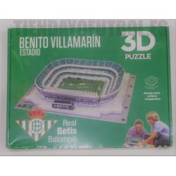 PUZZLE 3D oficial Estadio Benito Villamarín