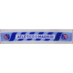 Bufanda oficial telar Atlético de Madrid Azul