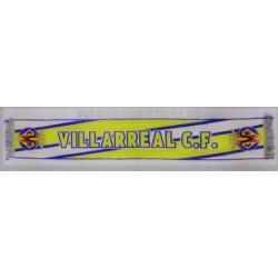 Bufanda oficial Villarreal CF